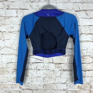 Joy Lab Ladies Cropped Long Sleeve Athletic Workou